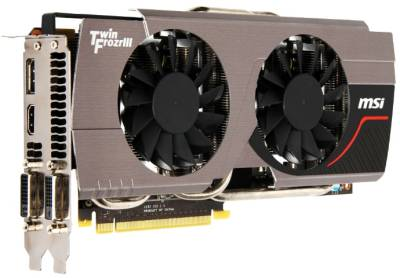 Видеокарта MSI GeForce GTX 680 2048Mb N680GTX Twin Frozr 2GD5/O