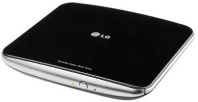 Оптический привод Lg GP50_NB40 USB EXT RTL slim Black GP50NB40