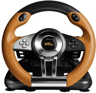 Игровой контроллер SPEEDLINK DRIFT O.Z. Racing Wheel PC SL-6695-BKOR