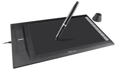 Графический планшет Trust SliZe Ultra Slim Graphic Tablet 18469
