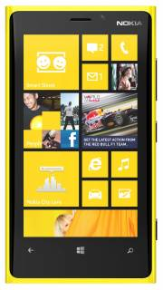 Смартфон Nokia Lumia 820 Yellow 0022J13