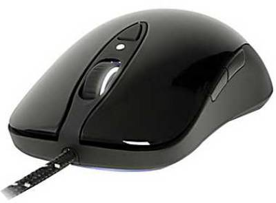 Мышка SteelSeries Sensei RAW Glossy Black 62154