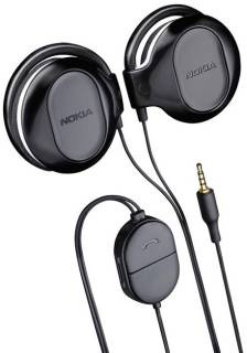 Наушники Nokia Stereo Headset  WH 202 BLACK WH202