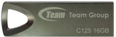 Флеш-память USB Team C125 16Gb Silver TC12516GS01