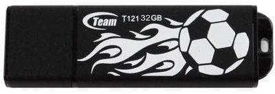 Флеш-память USB Team T121 32Gb Black TT12132GBBK