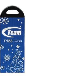 Флеш-память USB Team USB 32Gb T123 Blue TT12332GL01