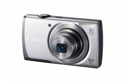 Фотоаппарат Canon PowerShot A3500 IS Silver 8162B014