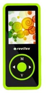 MP3 плеер Reellex UP-48 4GB Black/Green UP-48 4GB Black Green