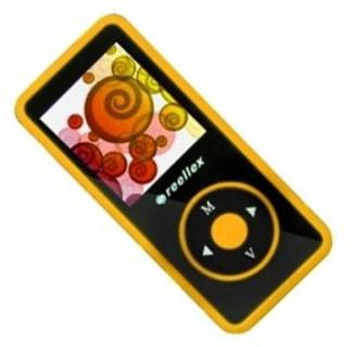 MP3 плеер Reellex UP-48 4Gb Black/Orange