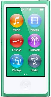 MP3 плеер Apple iPod Nano 7Gen 16GB Green MD478LL/A