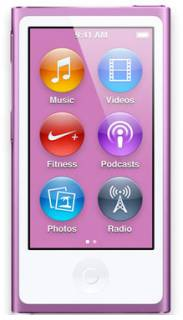 MP3 плеер Apple iPod Nano 7Gen 16GB Purple MD479LL/A