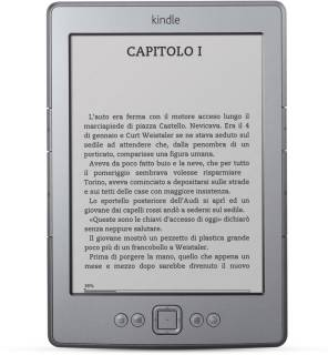 Электронная книга Amazon Kindle 5 with Special Offers Graphite