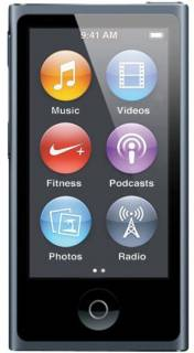 MP3 плеер Apple iPod 16GB nano Slate (7Gen) MD481LL/A