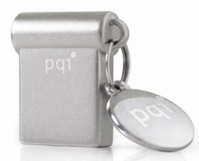 Флеш-память USB PQI I-Stick Mini 8 GB Mac Silver USB 3.0 6831-008GR102A