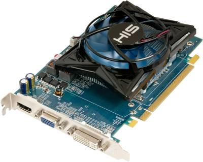 Видеокарта HIS Вдеокарта HD 6750 1GB 128-bit DDR3 PCI Express 2.1 (H675FS1G)