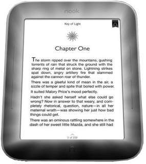 Электронная книга Barnes&Noble Nook Wi-Fi The Simple Touch with GlowLight BNRV350RB