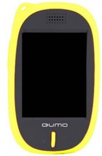MP3 плеер QUMO SENS 4Gb yellow