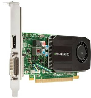 Видеокарта HP NVIDIA Quadro K600 1GB Graphics C2J92AA