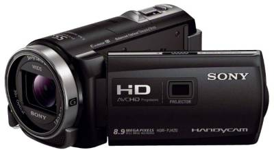 Видеокамера Sony Handycam HDR-PJ420 Black (with Projector) HDRPJ420EB.CEL