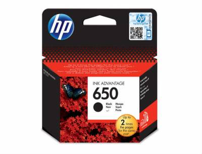 Картридж HP 650 Ink Advantage DJ2515/3515 black CZ101A