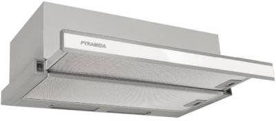 Вытяжка Pyramida TL full glass 50 IX WH