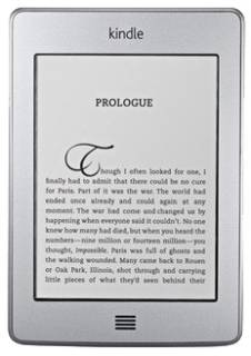 Электронная книга Amazon Kindle 4 Touch wifi+3g