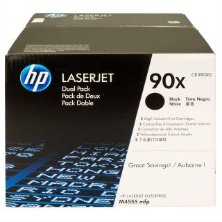 Картридж HP LJ Enterprise M4555 series max DUAL PACK CE390XD