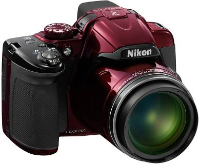 Фотоаппарат Nikon Coolpix P520 Red VNA252E1