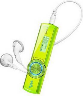 MP3 плеер Sony NWZ-B172F 2GB Green
