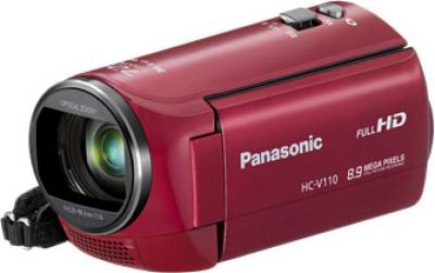Видеокамера Panasonic HDV Flash HC-V110 Red HC-V110EE-R
