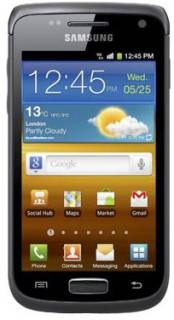 Смартфон Samsung I8150 Galaxy W Soft Black GT-I8150FKA