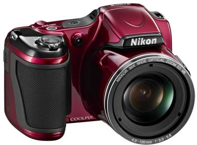 Фотоаппарат Nikon Coolpix L820 Red VNA331E1