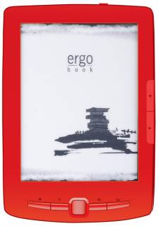 Электронная книга Ergo BOOK 0607 Red