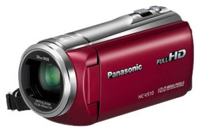Видеокамера Panasonic HDV Flash HC-V510 Red HC-V510EE-R