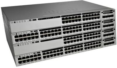 Сетевой коммутатор Cisco Catalyst 3850 24 Port Data IP Base WS-C3850-24T-S