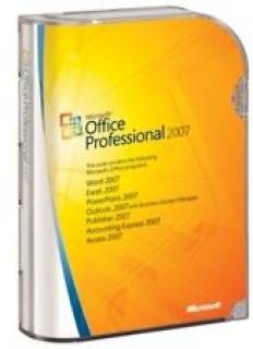 Приложение Microsoft Office 2007 Professional 32-bit English BOX 269-11094