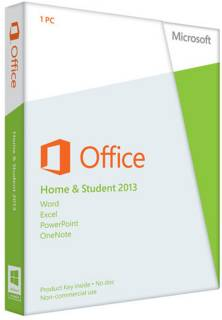 Приложение Microsoft Office Home and Student 2013 32/ 64 Ukrainian DVD 79G-03761
