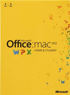 Приложение Microsoft Office Mac Home Student 2011 Russian DVD GZA-00310