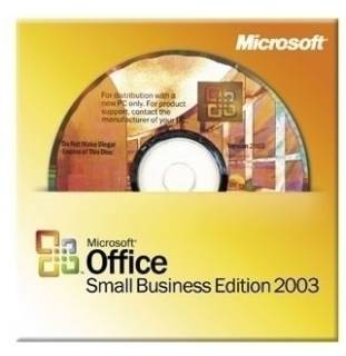 Приложение Microsoft Office 2003 Small Business, Russian, OEM W87-00184