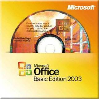 Приложение Microsoft Office 2003 Basic Edition Russian OEM (для сборки) x09-56509