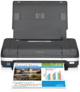 Принтер HP OfficeJet Mobile H470wbt CB028A