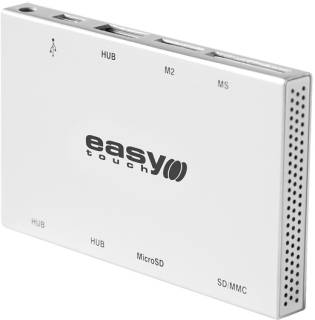 Картридер EASYTOUCH ET-4802 Brick Silver USB2.0 1334