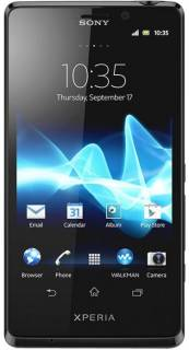 Смартфон Sony LT30p Xperia T mint black