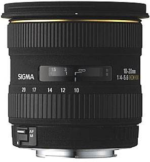 Объектив Sigma 10-20mm f/4-5.6 EX DC HSM for Canon 201927