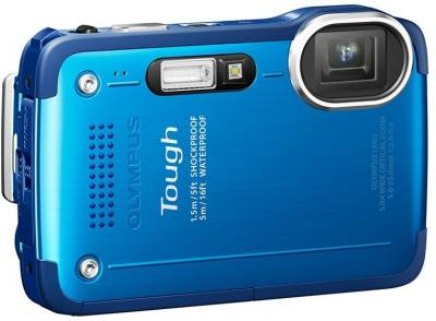 Фотоаппарат Olympus TG-630 Blue (Waterproof - 5m) V104110UE000