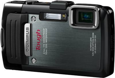 Фотоаппарат Olympus TG-830 Black (Waterproof - 10m; GPS) V104130BE000