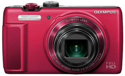 Фотоаппарат Olympus SH-21 Red + case + SDHC 16b Kit