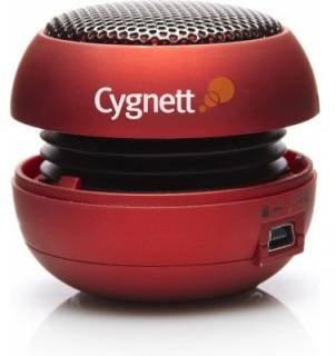 Акустическая система CYGNETT Mini bassball speaker для iPhones, iPods and other MP3 Players CY-3-BBR