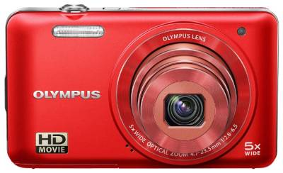 Фотоаппарат Olympus VG-160 Red+ case + SDHC 8 Gb KIT