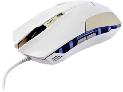 Мышка E-BLUE Cobra 6D, profressional gaming white EMS108WH